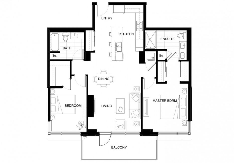 Floor Plan C Lyra Residences
